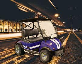 #29 for Photoshop headlights into golf cart af saimun57