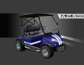 nº 21 pour Photoshop headlights into golf cart par helmath