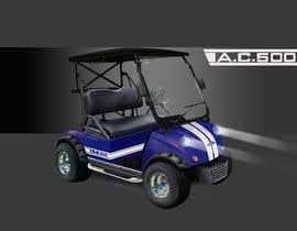 #21 for Photoshop headlights into golf cart af helmath