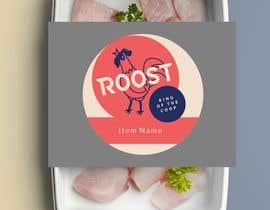 #25 para Round label for restaurant por ConceptGRAPHIC