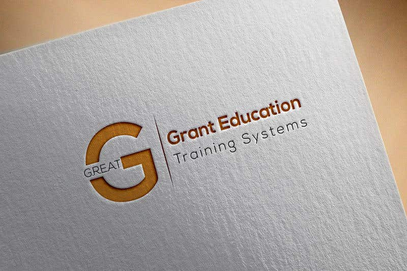 "Intrarea #35 pentru concursul ""Easy logo for a Grant Education Training Systems"""