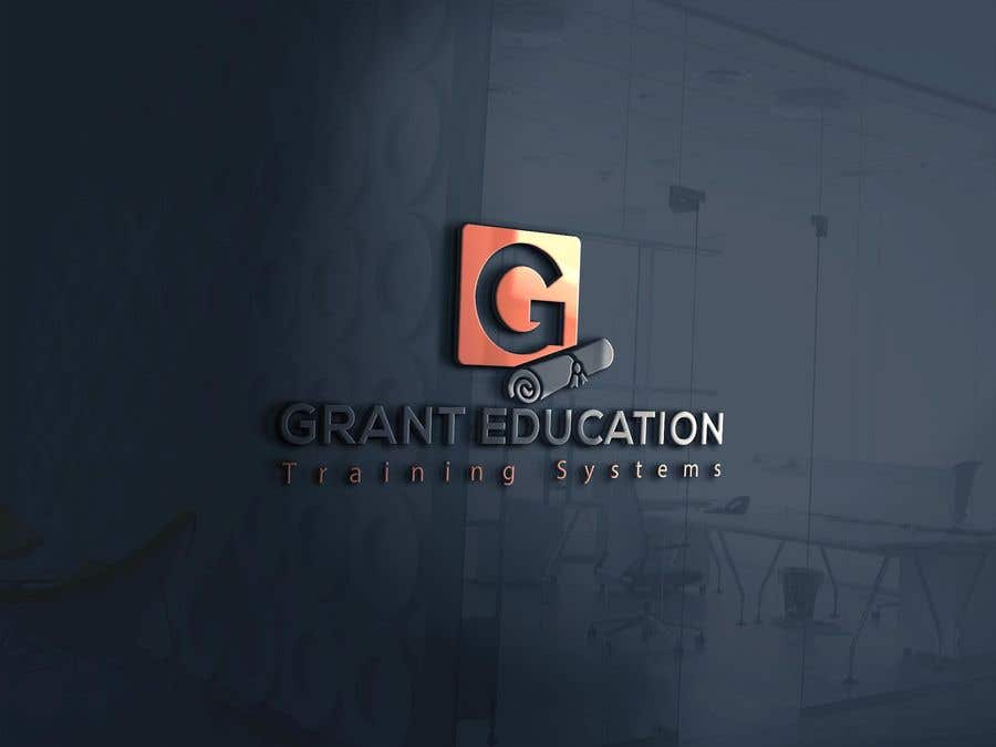 "Intrarea #60 pentru concursul ""Easy logo for a Grant Education Training Systems"""