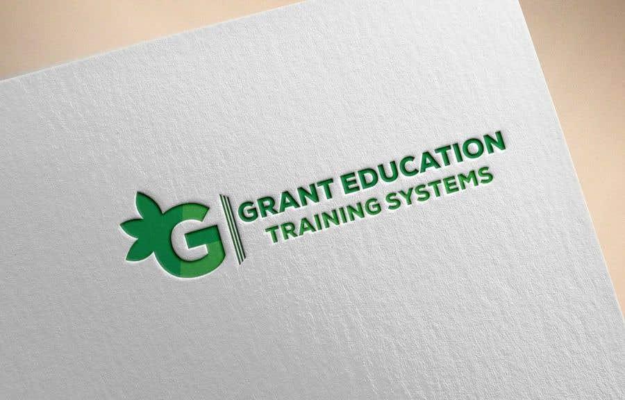 "Intrarea #65 pentru concursul ""Easy logo for a Grant Education Training Systems"""