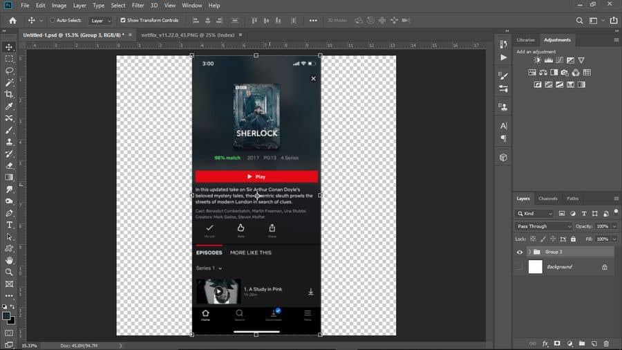 Penyertaan Peraduan #9 untuk Convert UI Screenshots to Sketch file