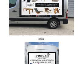#23 for Design vehicle / van wrap by jaimauricio