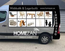 #26 for Design vehicle / van wrap by Leografic