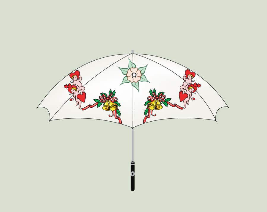 Proposition n°104 du concours need for a pattern design for the umbrella in the attached photo