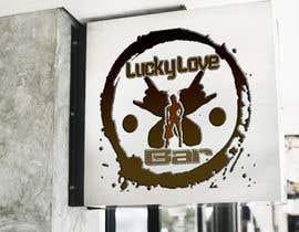 Nro 15 kilpailuun Logo für Lucky Love Bar käyttäjältä leyor124