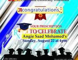 #35 untuk Graduation invitation card oleh nazibarinu