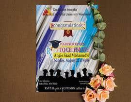 #36 untuk Graduation invitation card oleh nazibarinu