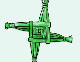 #20 untuk Design me an Image Cartoon Style - Irish St Bridgets Cross oleh LizaShtefan