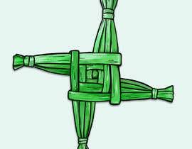 LizaShtefan tarafından Design me an Image Cartoon Style - Irish St Bridgets Cross için no 20