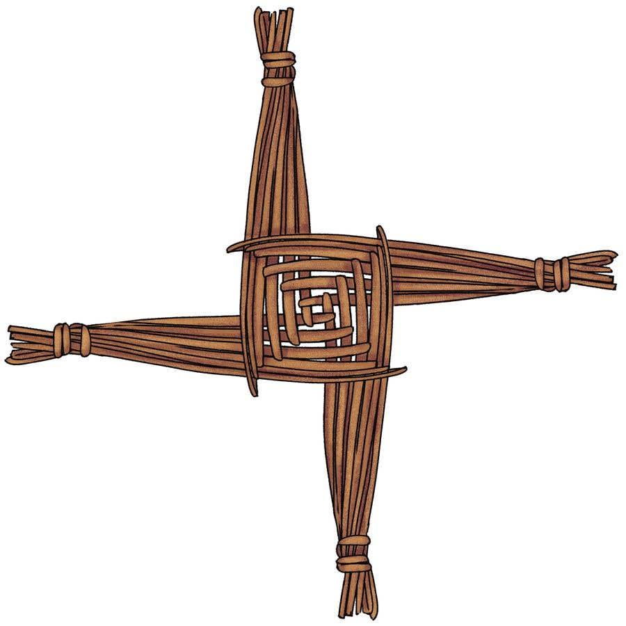 Penyertaan Peraduan #22 untuk Design me an Image Cartoon Style - Irish St Bridgets Cross