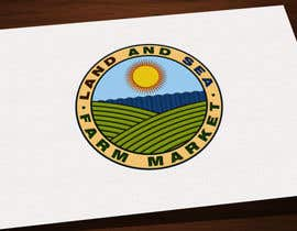 #239 for Land & Sea Farm Market Logo by kalart