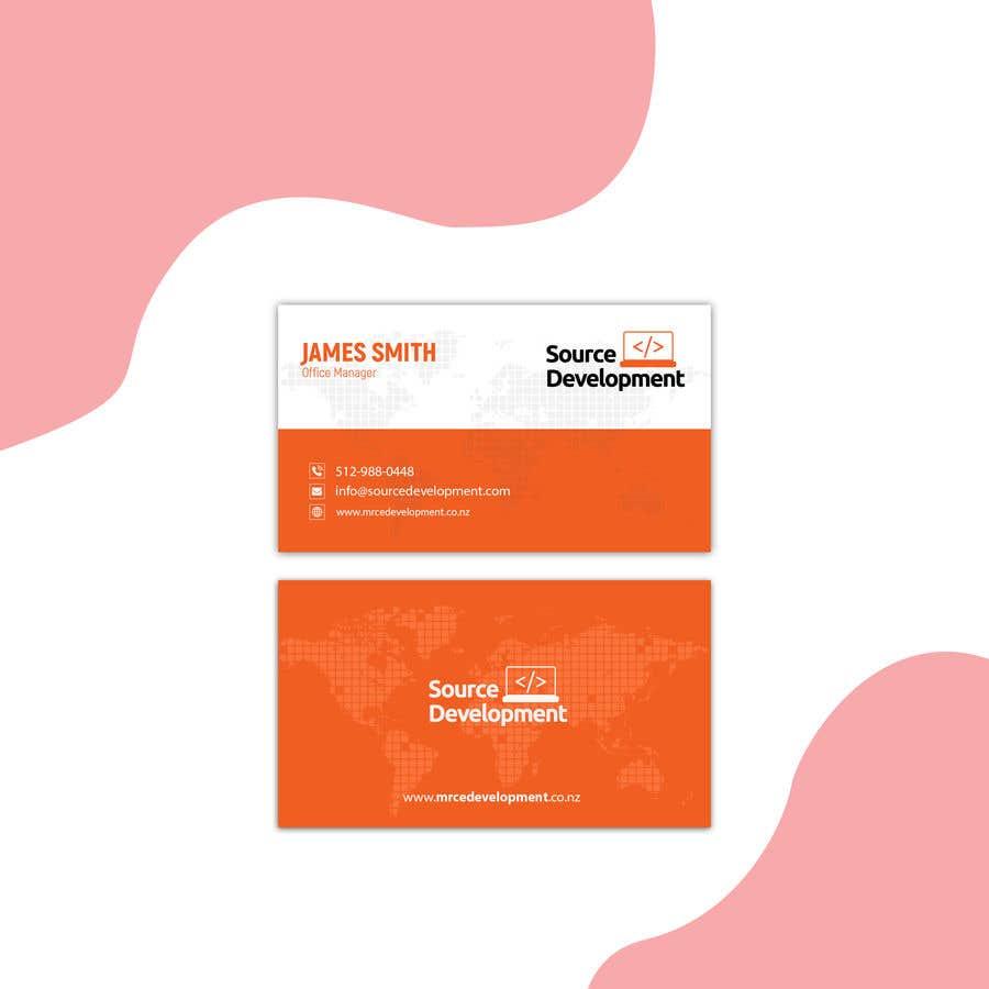 Inscrição nº 211 do Concurso para Re-Design a Business Card for a Website & App Development Company