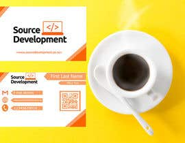 #358 cho Re-Design a Business Card for a Website & App Development Company bởi rifathasan64675