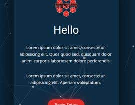 #28 for Design a stunning modern/illustrative/classic landing page by nahinraja