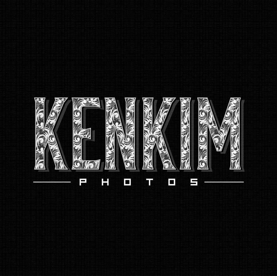 """Contest Entry #50 for I need a logo for my photography page. The logo will be written as """"KenKimPhotos"""", not really looking for a particular design but something that will catch my eyes. It's simple best catchy design wins, if it's reallllly great, I'll increase the budget - 2"""