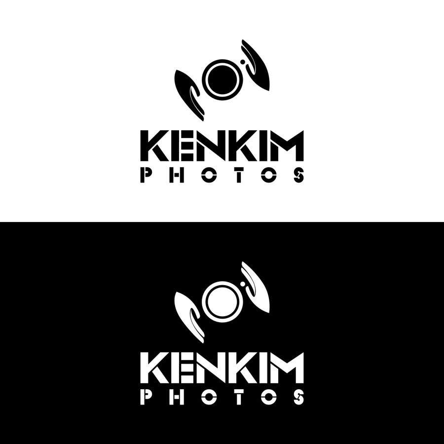 """Contest Entry #134 for I need a logo for my photography page. The logo will be written as """"KenKimPhotos"""", not really looking for a particular design but something that will catch my eyes. It's simple best catchy design wins, if it's reallllly great, I'll increase the budget - 2"""