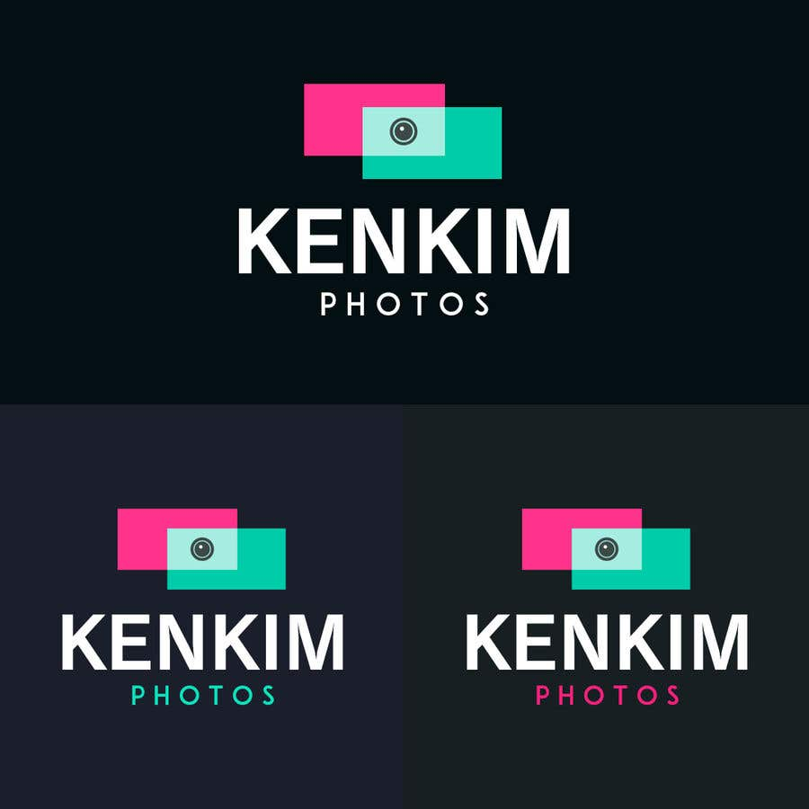 """Contest Entry #160 for I need a logo for my photography page. The logo will be written as """"KenKimPhotos"""", not really looking for a particular design but something that will catch my eyes. It's simple best catchy design wins, if it's reallllly great, I'll increase the budget - 2"""