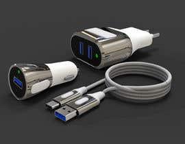 Nro 35 kilpailuun USB Chargers and cables with Family design käyttäjältä ahmadnazree