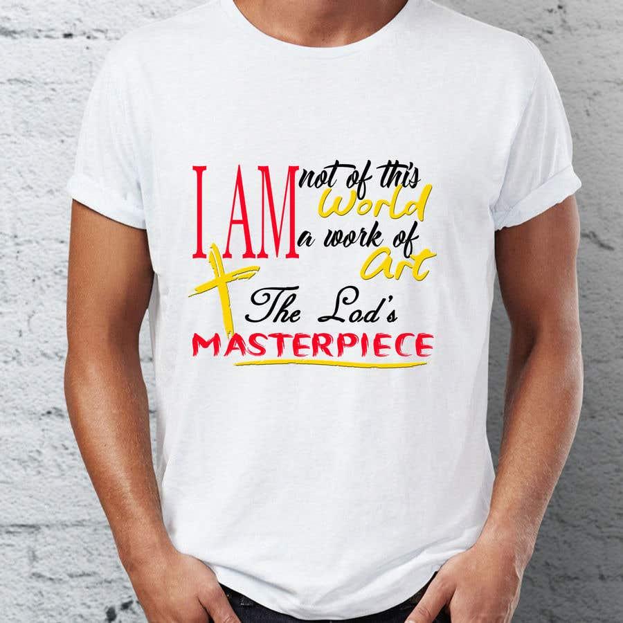 Penyertaan Peraduan #36 untuk create an awesome t shirt design for my merch