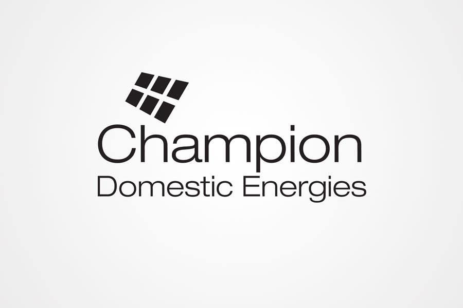 Конкурсная заявка №71 для Logo Design for Champion Domestic Energies, LLC