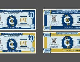 #20 для Make a design for the paper money bills for a cryptocurrency (BitCash Dollar) от cjsevilleja