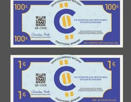 #21 для Make a design for the paper money bills for a cryptocurrency (BitCash Dollar) от cjsevilleja
