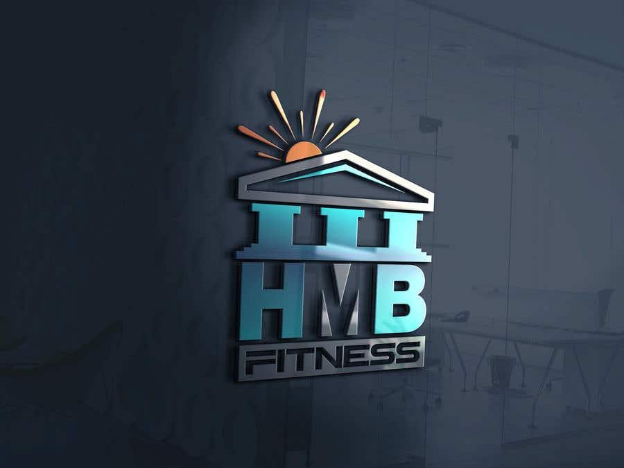 Kilpailutyö #74 kilpailussa H.M.B Fitness logo