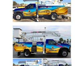 nº 14 pour Bucket Truck Wrap, Kustom Signs par monstersox