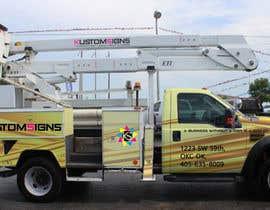 Nro 4 kilpailuun Bucket Truck Wrap, Kustom Signs käyttäjältä GDesignLab