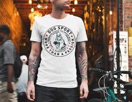 #42 для Design for a T-Shirt around Dogsports от abdulsattar1998
