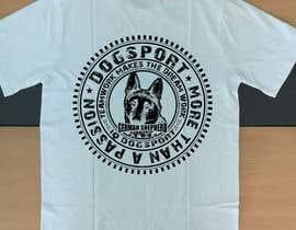 #46 для Design for a T-Shirt around Dogsports от afroza2019