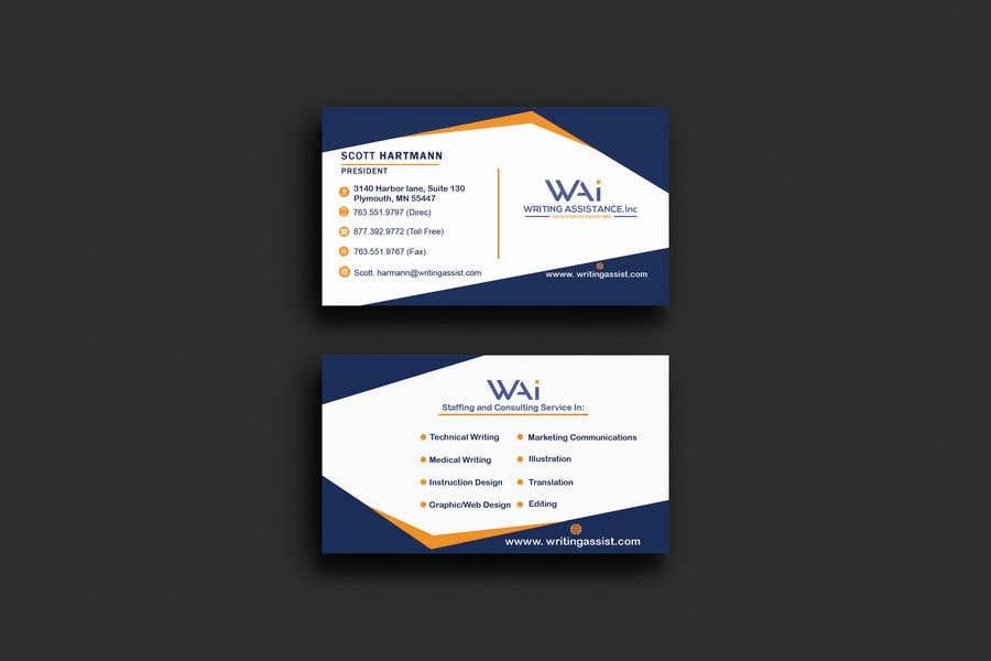 Inscrição nº 445 do Concurso para New Business Card Design