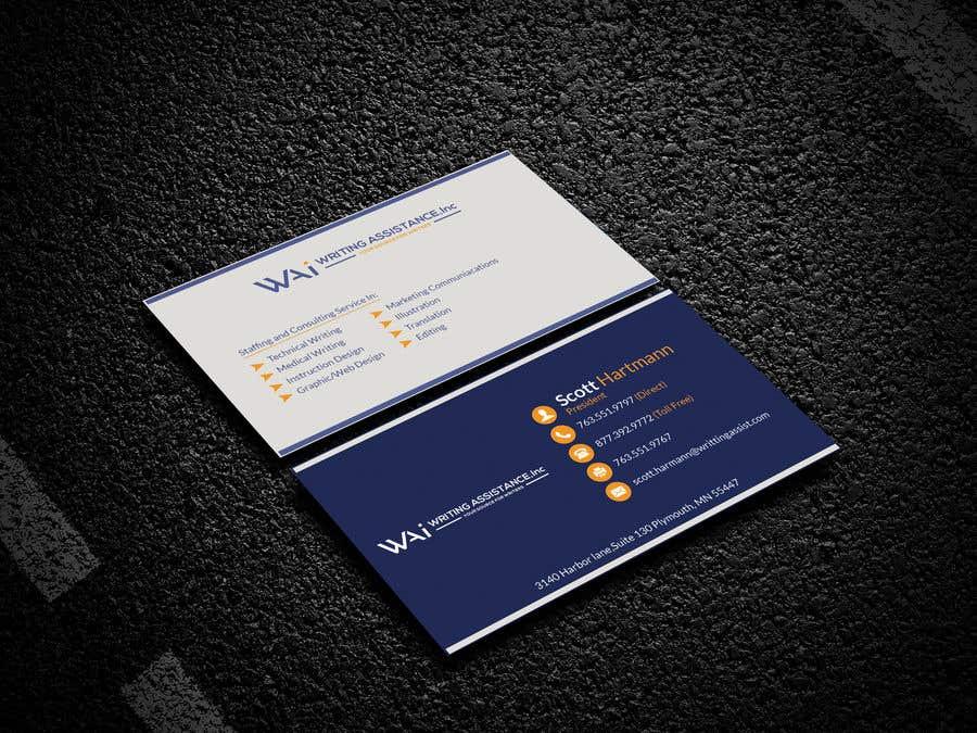 Inscrição nº 692 do Concurso para New Business Card Design