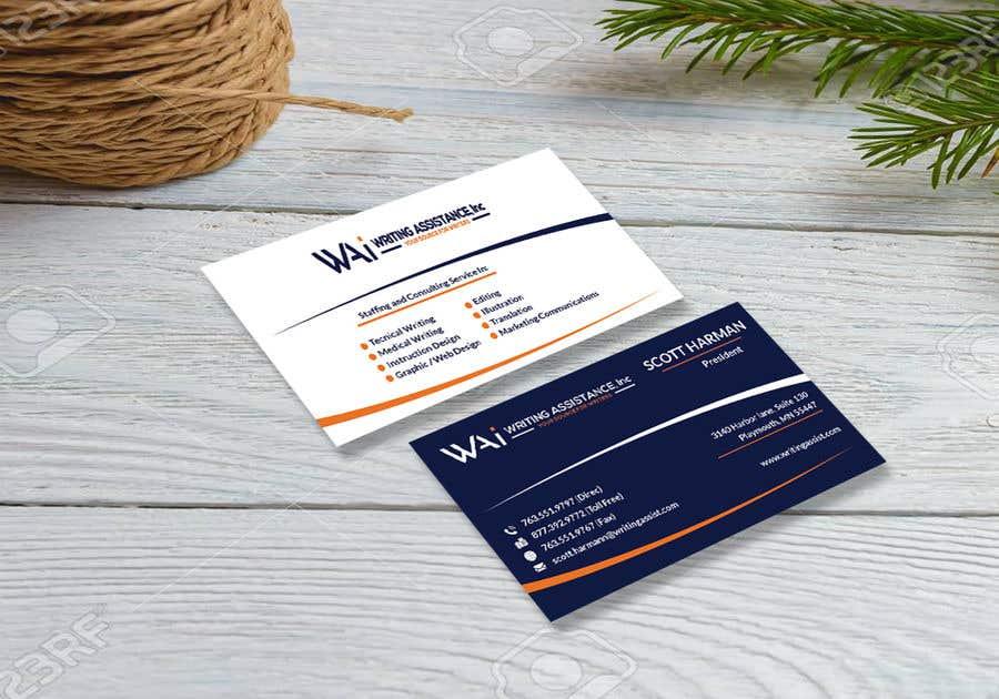 Inscrição nº 807 do Concurso para New Business Card Design
