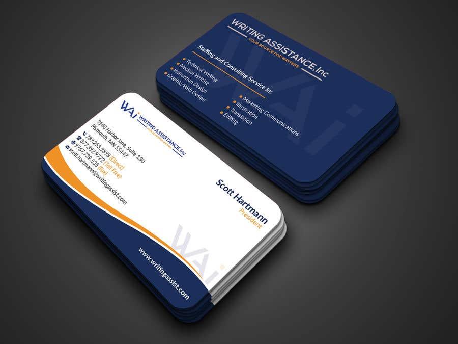 Inscrição nº 483 do Concurso para New Business Card Design