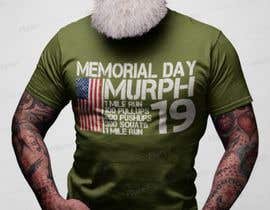 #49 for Murph 2019 Tee by JohnGoldx