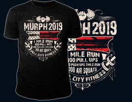 #45 for Murph 2019 Tee by hasembd