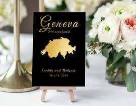 #12 untuk 4x6 cards or 3x5 cards for wedding table cards oleh SeleneAw