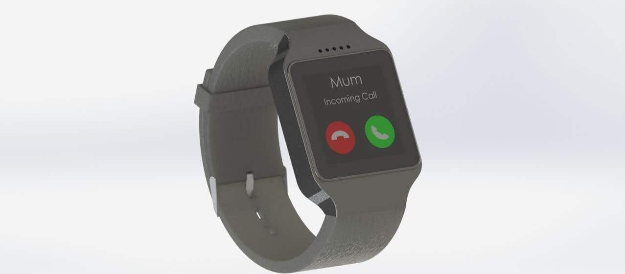Penyertaan Peraduan #23 untuk Design a kids smart watch - body & strap