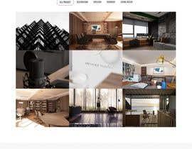 #35 untuk Build Me A Website Template For An Interior Designer oleh Arghya1199