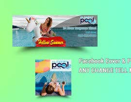 #50 для Images for Social Media for Swimming Pool Service от Designzone143