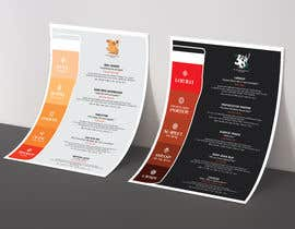 #64 cho Beer Menu Needed for Customers and Distribution. bởi zoebiolcati