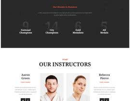 nº 44 pour Design for capoeira web site par gatissharm