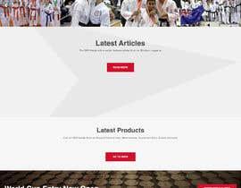 #50 untuk Design for capoeira web site oleh moazamofcl