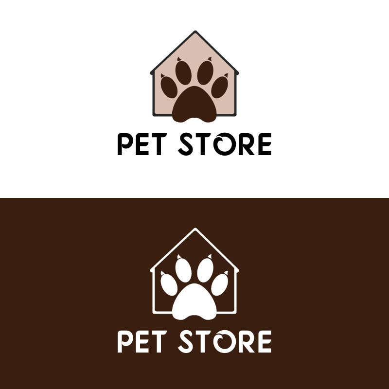 Penyertaan Peraduan #63 untuk Need a creative logo for my online pet store