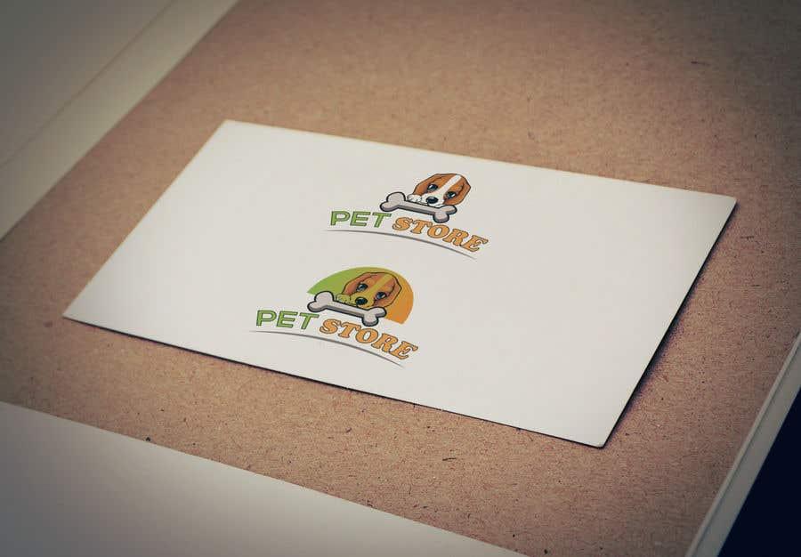 Penyertaan Peraduan #32 untuk Need a creative logo for my online pet store