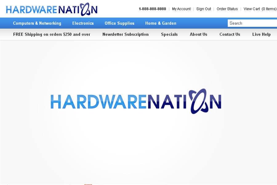 Contest Entry #                                        343                                      for                                         Logo Design for HardwareNation.com
